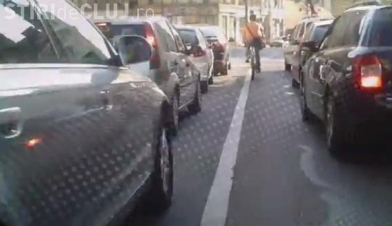 Circuli cu bicicleta prin Cluj? Care sunt recomandările polițiștilor privind conduita în trafic