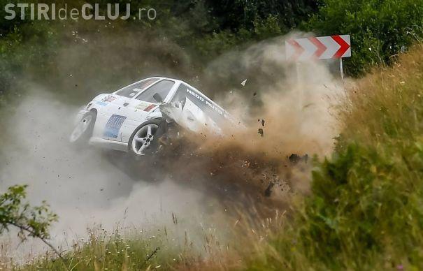 ACCIDENT la Transilvania Rally! Un pilot a ajuns la UPU Cluj-Napoca