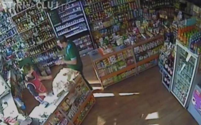 Vânzătoarea unui magazin din Mărăști, bătută de un sucevean