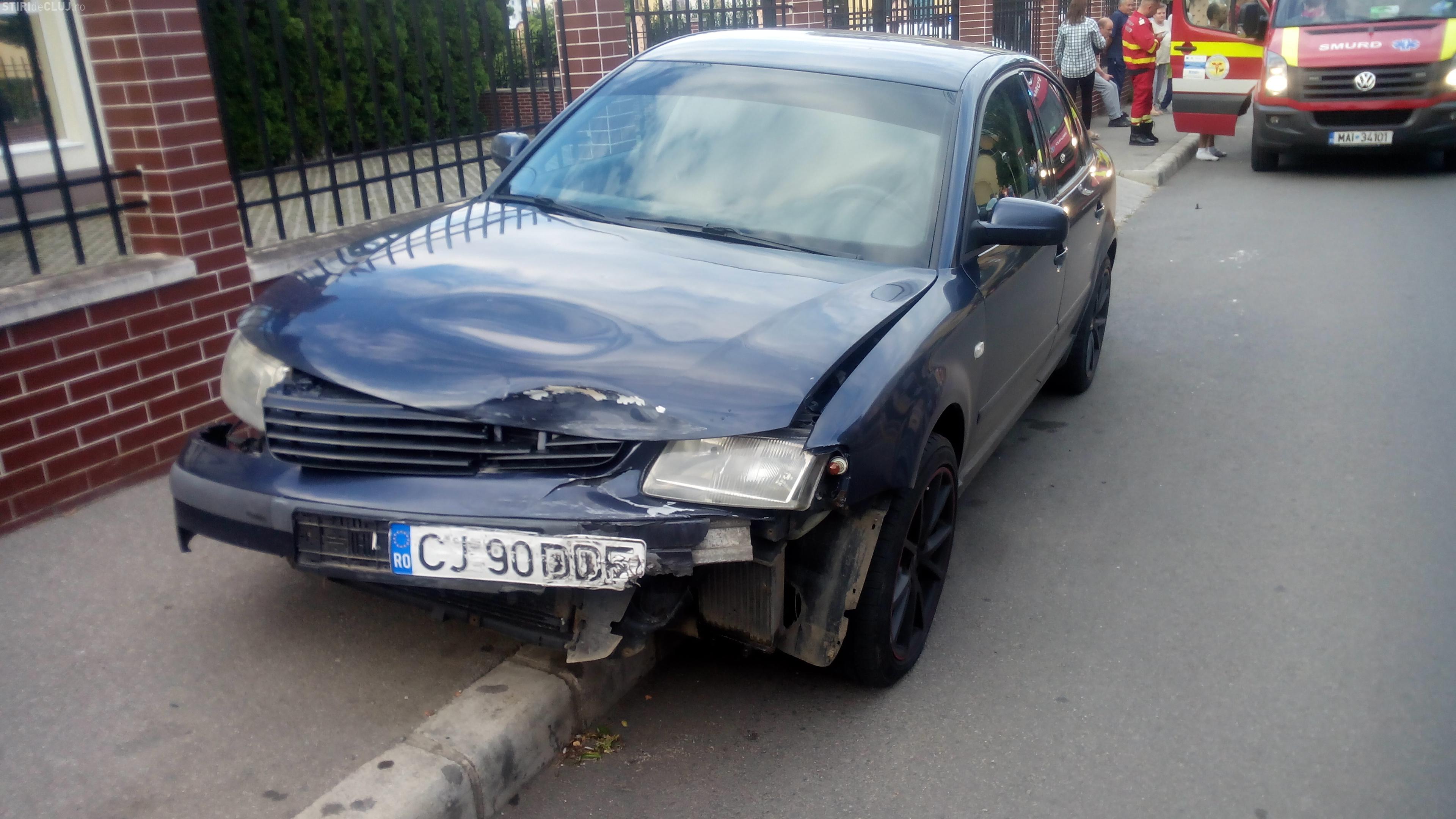 Accident la intersectia strazilor Siretului cu Muresului - FOTO