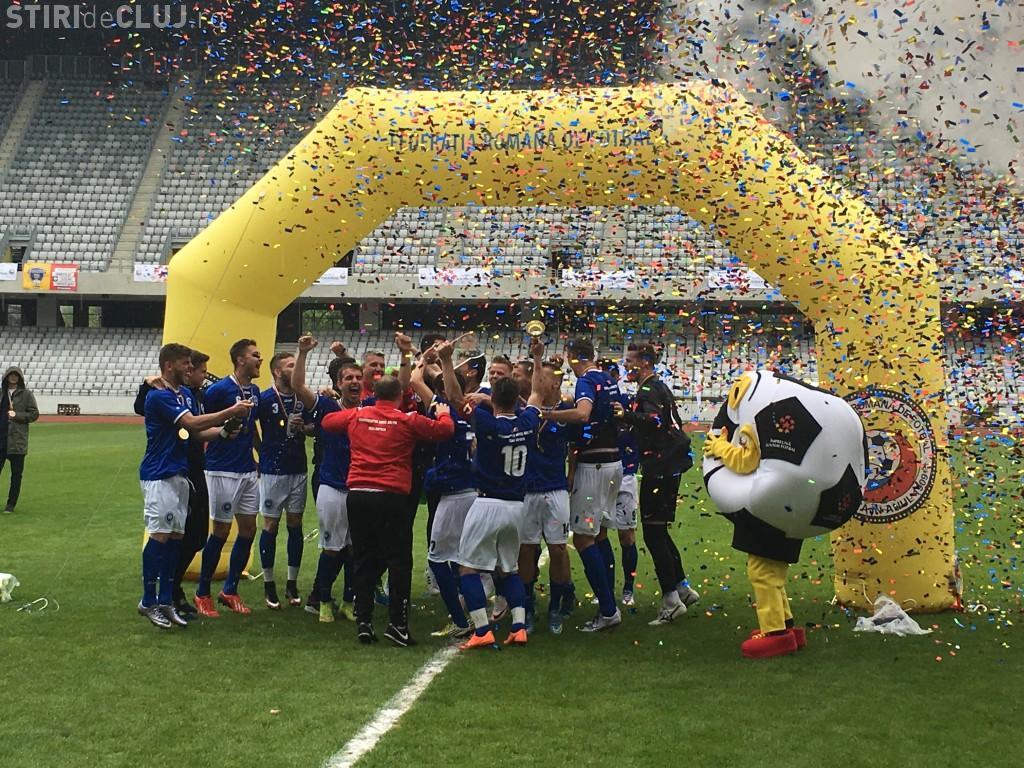 Cluj - Studenții Babes s-au calificat, în premieră, la Campionatul European de Fotbal Universitar