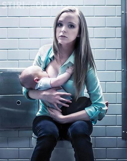 Alăptarea copiilor în public nu este ILEGALĂ. Mesajul DUR al unei mame, după ce la Hotelul Ramada mamele au fost trimise la WC