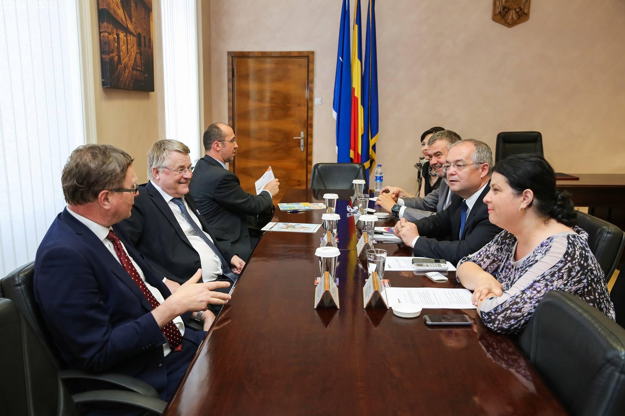 Boc l-a primit pe președintele Comitetului European al Regiunilor, Markku Markkula