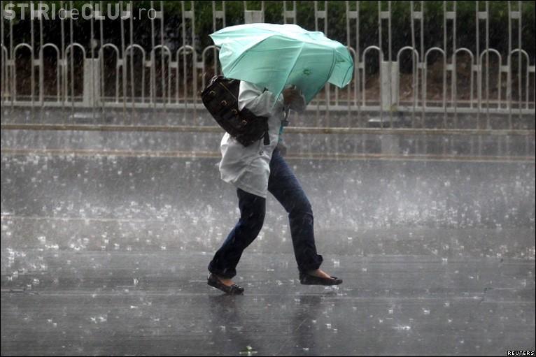 COD PORTOCALIU de furtună la Cluj. Vezi ce zone sunt afectate