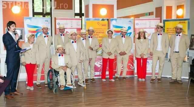 Echipa Paralimpică a României a fost prezentată la Cluj-Napoca