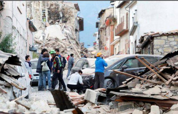 Un nou cutremur a lovit Italia! A fost afectată localitatea Amatrice