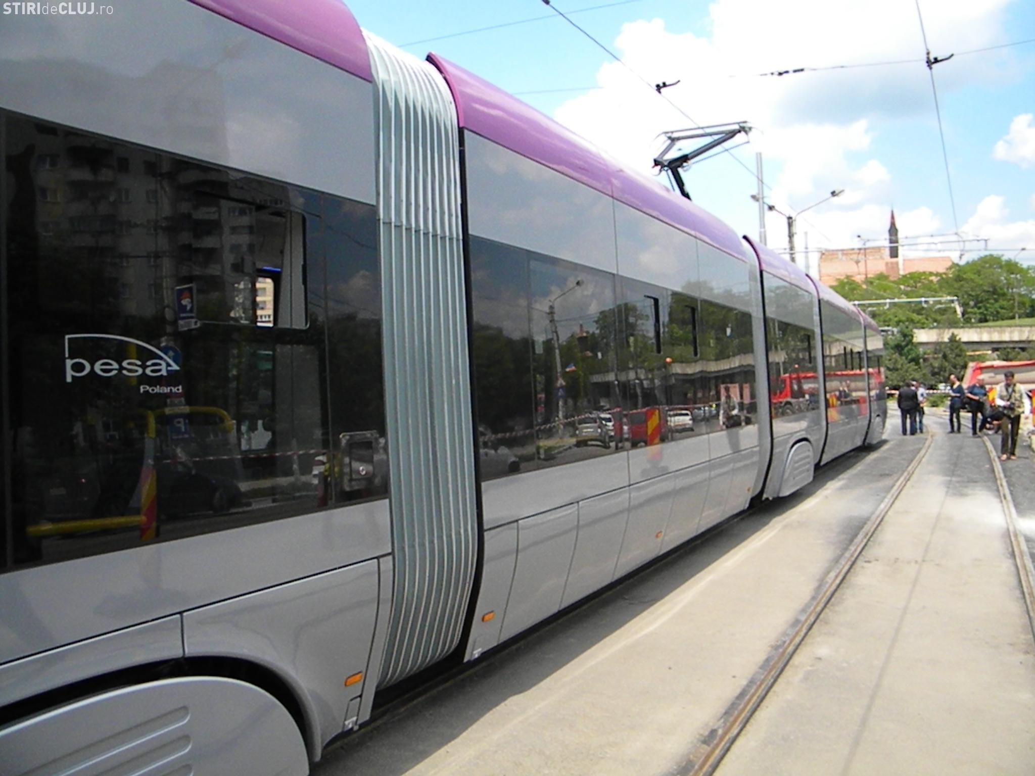 CTP Cluj sistează activitatea tramvaielor în weekend. Vezi cu ce se va circula