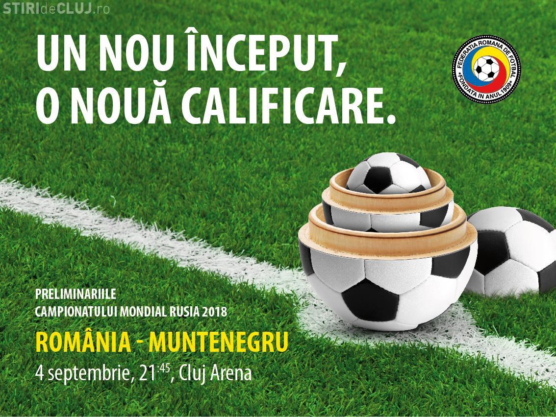 Care sunt câștigătorii biletelor pentru meciul România - Muntenegru, de pe Cluj Arena