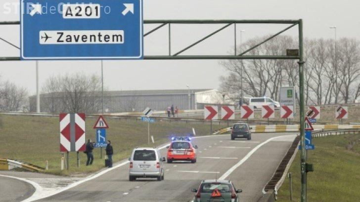 Alertă cu bombă în două avioane ce urmează să aterizeze la Bruxelles / UPDATE: Avioanele au aterizat fără probleme