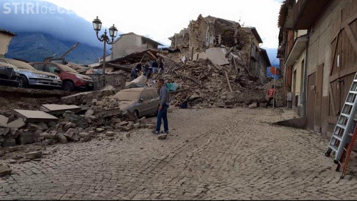 Cutremur în Italia. Șase români au murit. Bilanțul total al morților: 268 - VIDEO