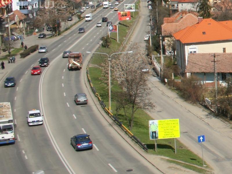 Amenzi pe Calea Turzii, pentru opriri și staționări neregulamentare