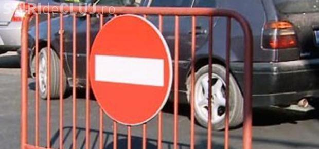 Se închide traficul în centrul Clujului