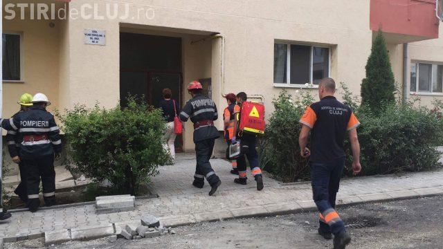 Pompierii au fost puși pe jar de un adolescent din Dej. Vezi ce s-a întâmplat VIDEO