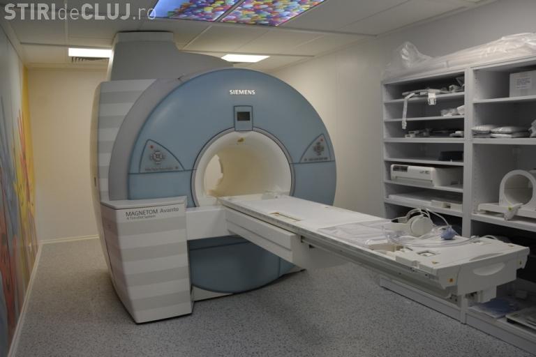 RMN nou, de ultimă generaţie, la Spitalul de Copii Cluj-Napoca - FOTO
