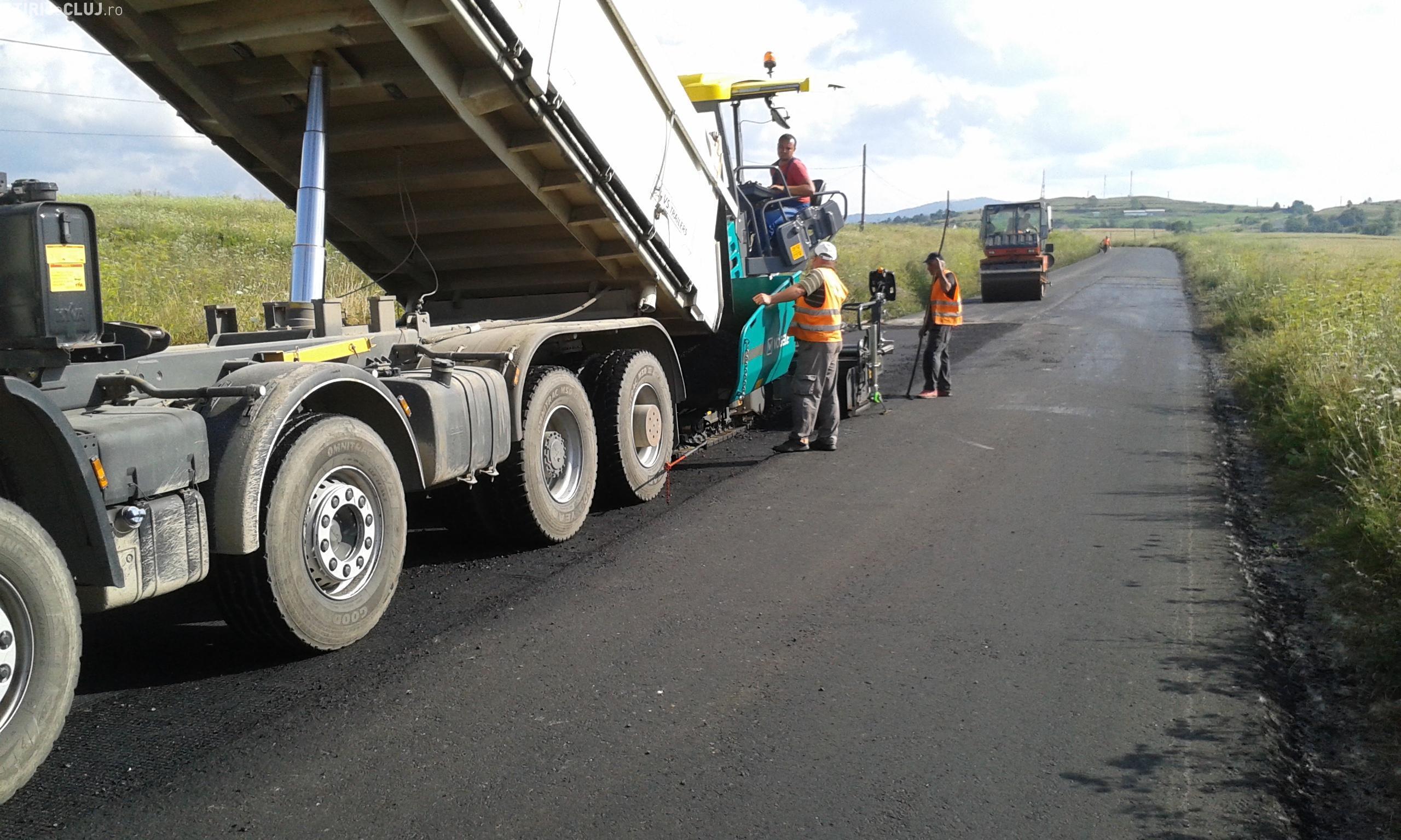 Cluj: Noutăți despre creditul de 50 de milioane de euro pentru asfaltarea drumurilor