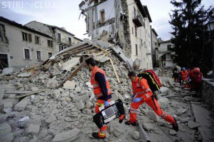 Doi români au murit și alți opt au fost răniți în cutremurul din Italia. Sute de persoane au decedat în urma catastrofei