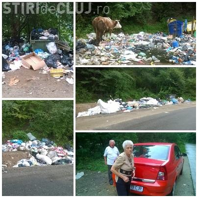 Șase rampe de gunoi clandestine între lacurile Gilău și Tarnița. De acolo bea Clujul apă - FOTO