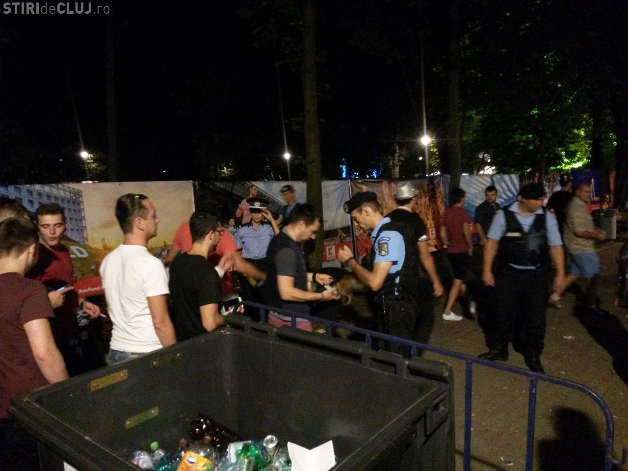 Cluj - Doi culturiști au bătut cinci polițiști și un jandarm, după UNTOLD. Procurorii nu i-au ARESTAT