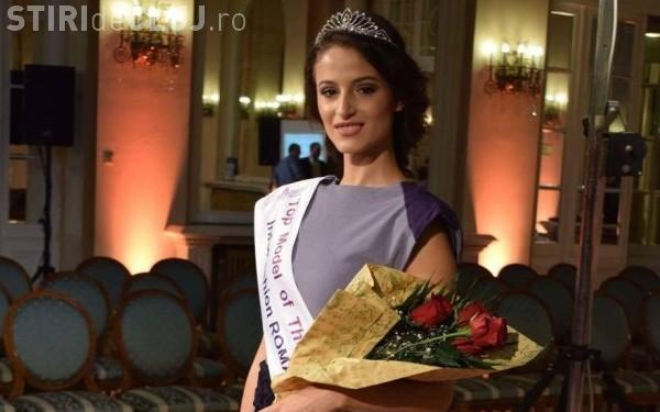 O elevă de 18 ani, din Cluj, reprezintă Romania la Top Model of The World