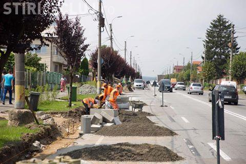 Se modernizează strada Corneliu Coposu. Ultima dată a fost reabilitată acum 20 de ani FOTO