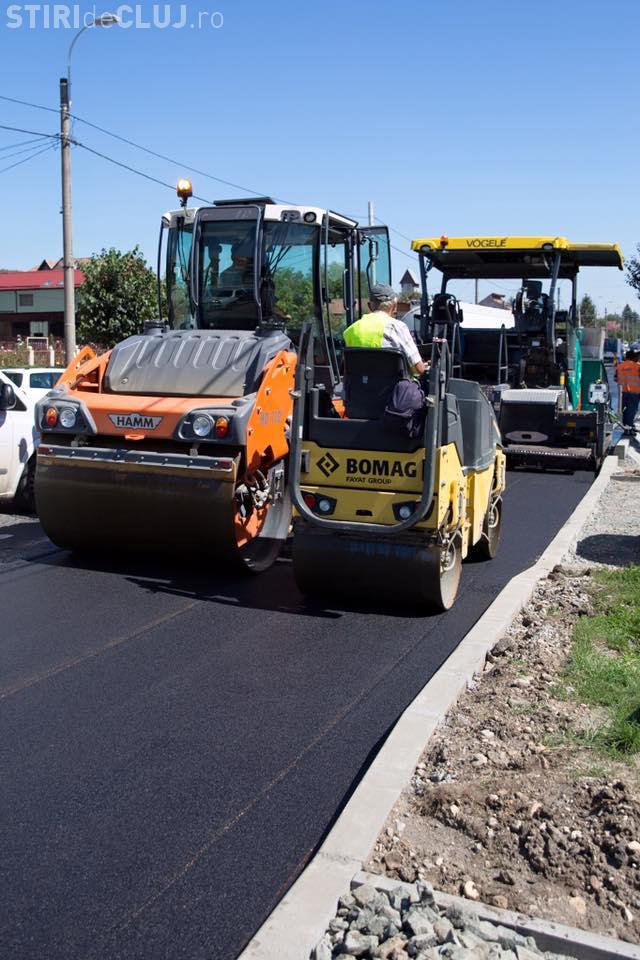 În ce stadiu sunt lucrările de modernizare de pe străzile Fabricii și Corneliu Coposu. Vezi când trebuie finalizate FOTO