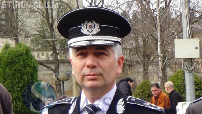 După cinci evadări din arestul IPJ Cluj, șeful Poliției Cluj pleacă în pensie. Va încasa o mică avere