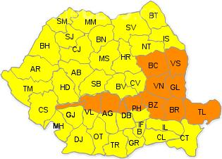 România sub cod galben de furtuni! Ce anunță ANM