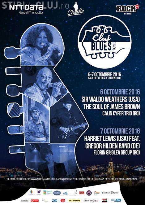Stiri de Cluj te trimite la Blues Fest! Ce trebuie să faci pentru a câștiga o invitație