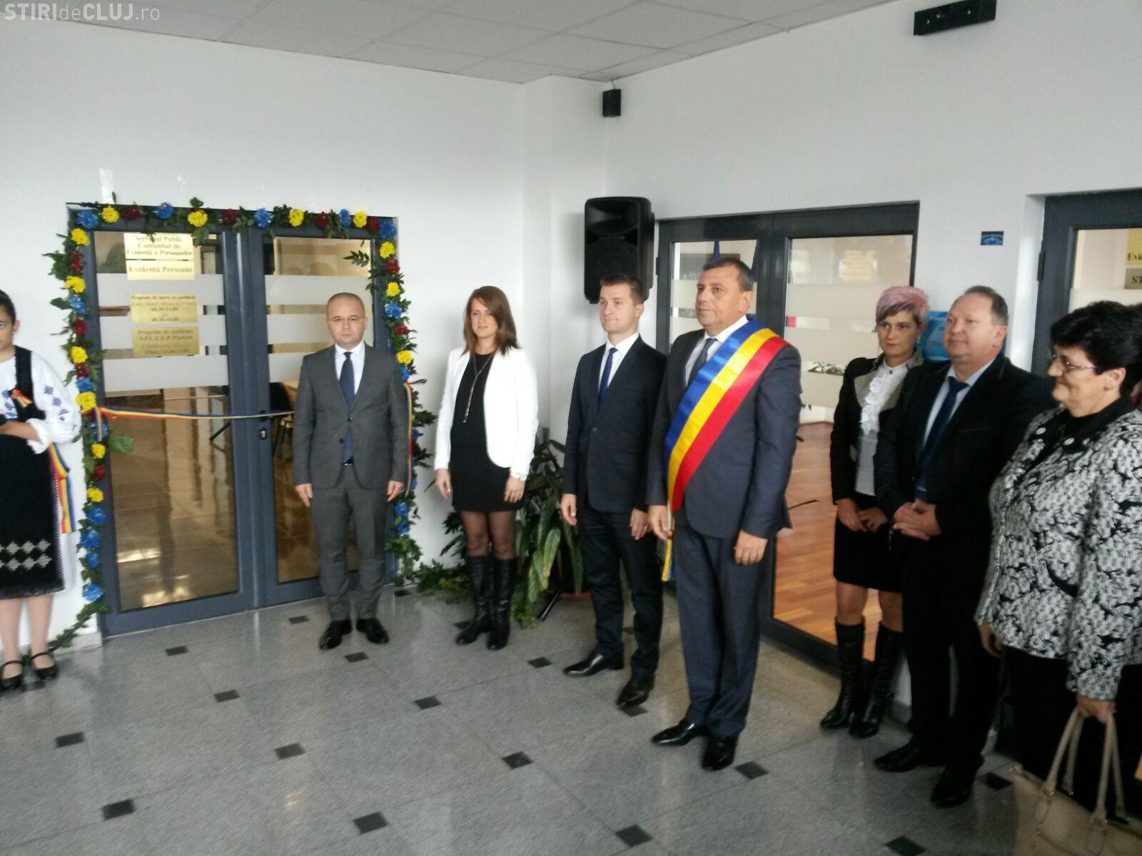 Primăria Florești a inaugurat serviciul de Evidența Populației. Este singura comună din țară cu un astfel de serviciu FOTO