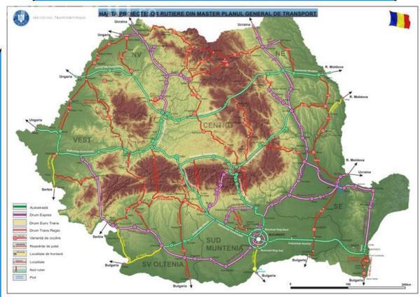 A apărut o nouă hartă a autostrăzilor din România. Cum va fi favorizat Clujul