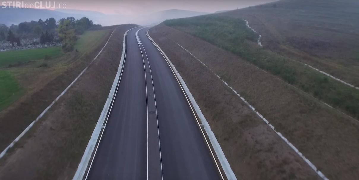 Autostrada Gilău - Nădășelu se apropie de finalizare: Va fi inutilizabil întreg anul 2017 - VIDEO