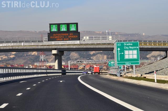 Șofer de 18 ani, prins cu 255 km/h pe Autostrada Transilvania. Și-a luat permisul de câteva luni