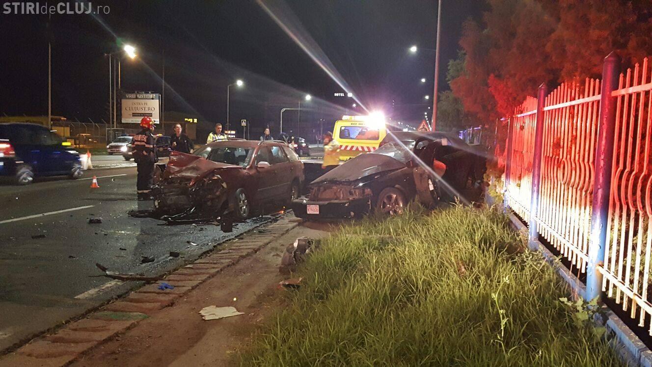 Accident lângă Metro Florești! Două autoturisme s-au făcut PRAF - VIDEO