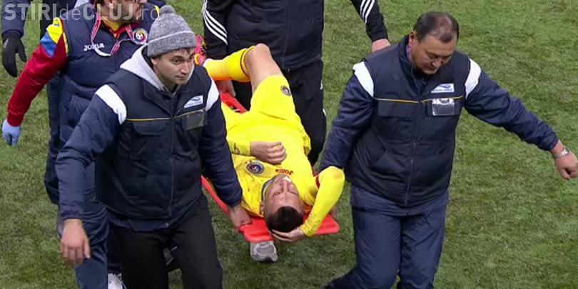 Săpunaru are 6 dinți sparți, după meciul cu Kazahstan. Ce alți jucători au fost răniți - VIDEO