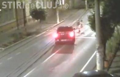 Cluj - Și-au văzut moartea cu ochii pe trecerea de pietoni - VIDEO