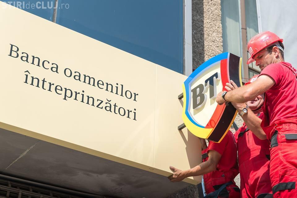 Schimbare importantă pentru Banca Transilvania - FOTO