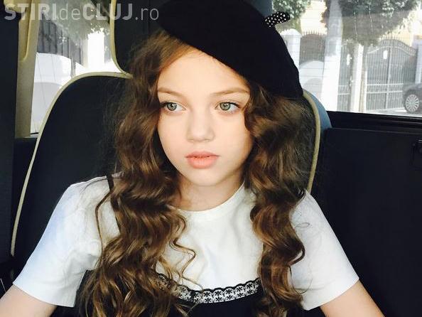Cum s-a dus îmbrăcată la școală cea mai frumoasă fetiţă din România - FOTO