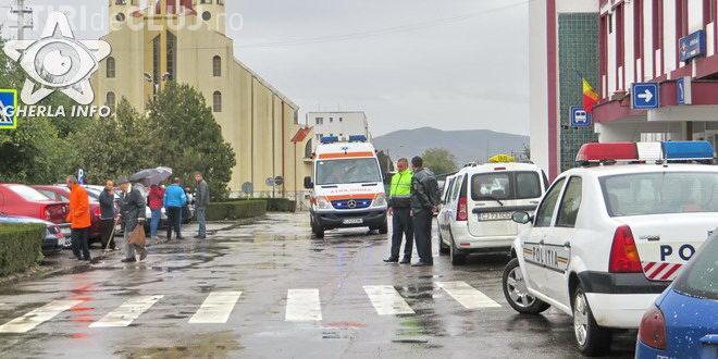 Cluj: Un bărbat a murit la volan, în faţa gării
