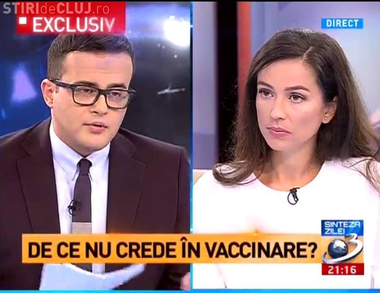 Ce a spus Olivia Steer la Antena 3, despre scandalul vaccinarii și EPIDEMIA de RUJEOLĂ