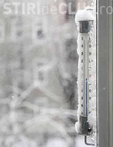 Record negativ de temperatură în România. Ce valori termice s-au înregistrat