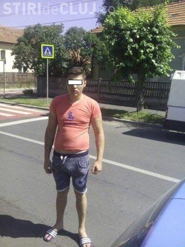 Taximetrist clujean lovit în cap! Atacatorul a fugit - Cine îl recunoaște?