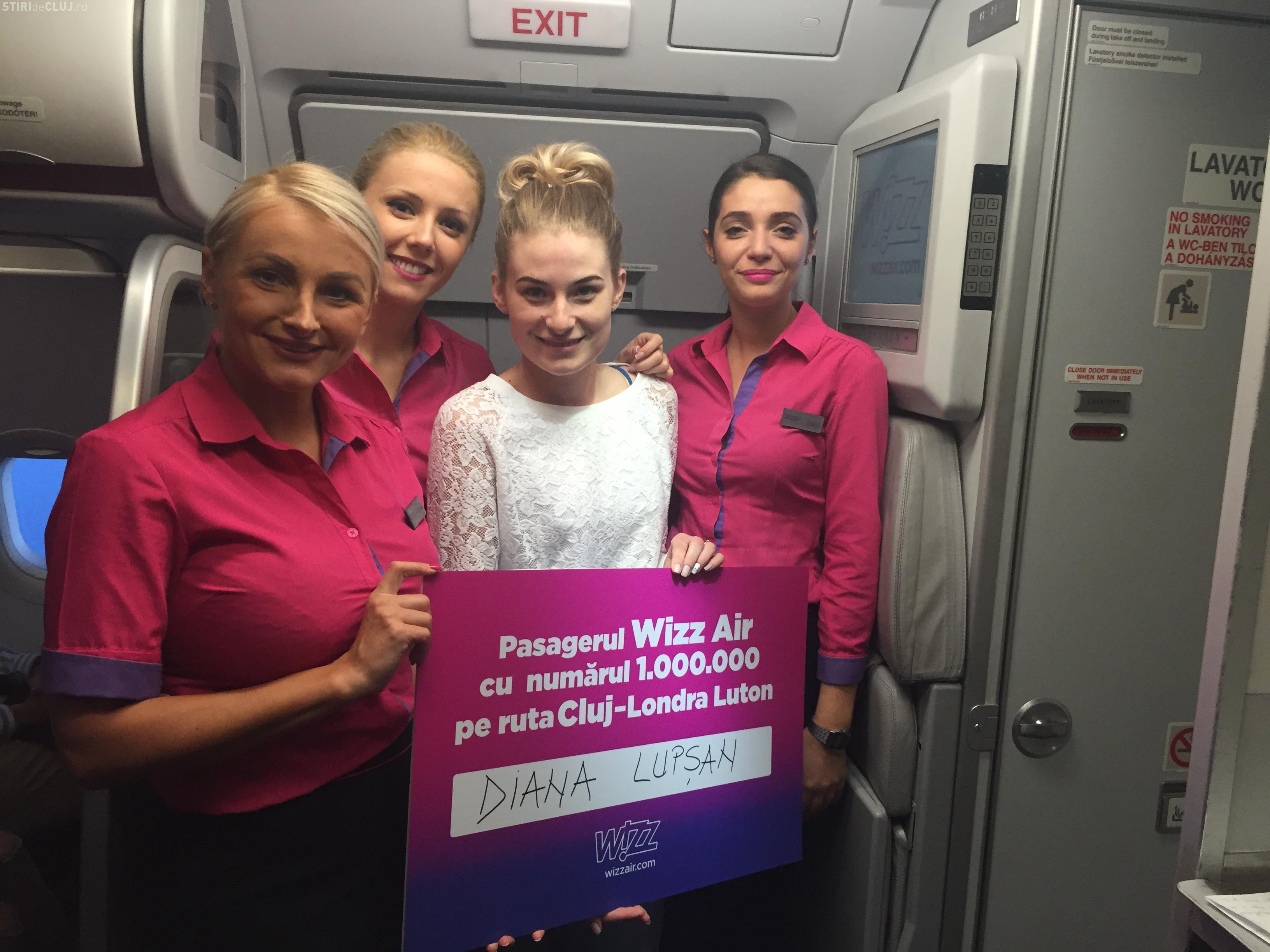 Wizz AIR a sărbătorit alături de Aeroportul Cluj o CIFRĂ importantă