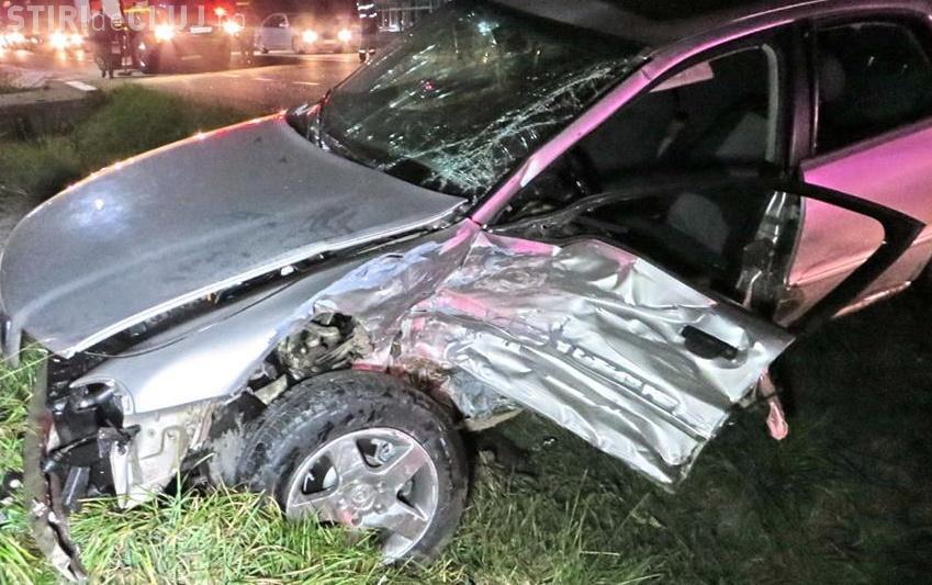 Accident GRAV lângă Gherla, la Bunești - VIDEO / FOTO