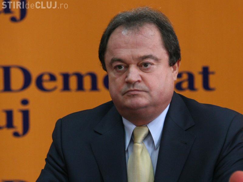 Vasile Blaga, pus sub control judiciar de DNA. Este acuzat de trafic de infleunță