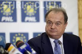 Vasile Blaga și-a dat demisia din conducerea PNL: îmi voi dovedi nevinovăția