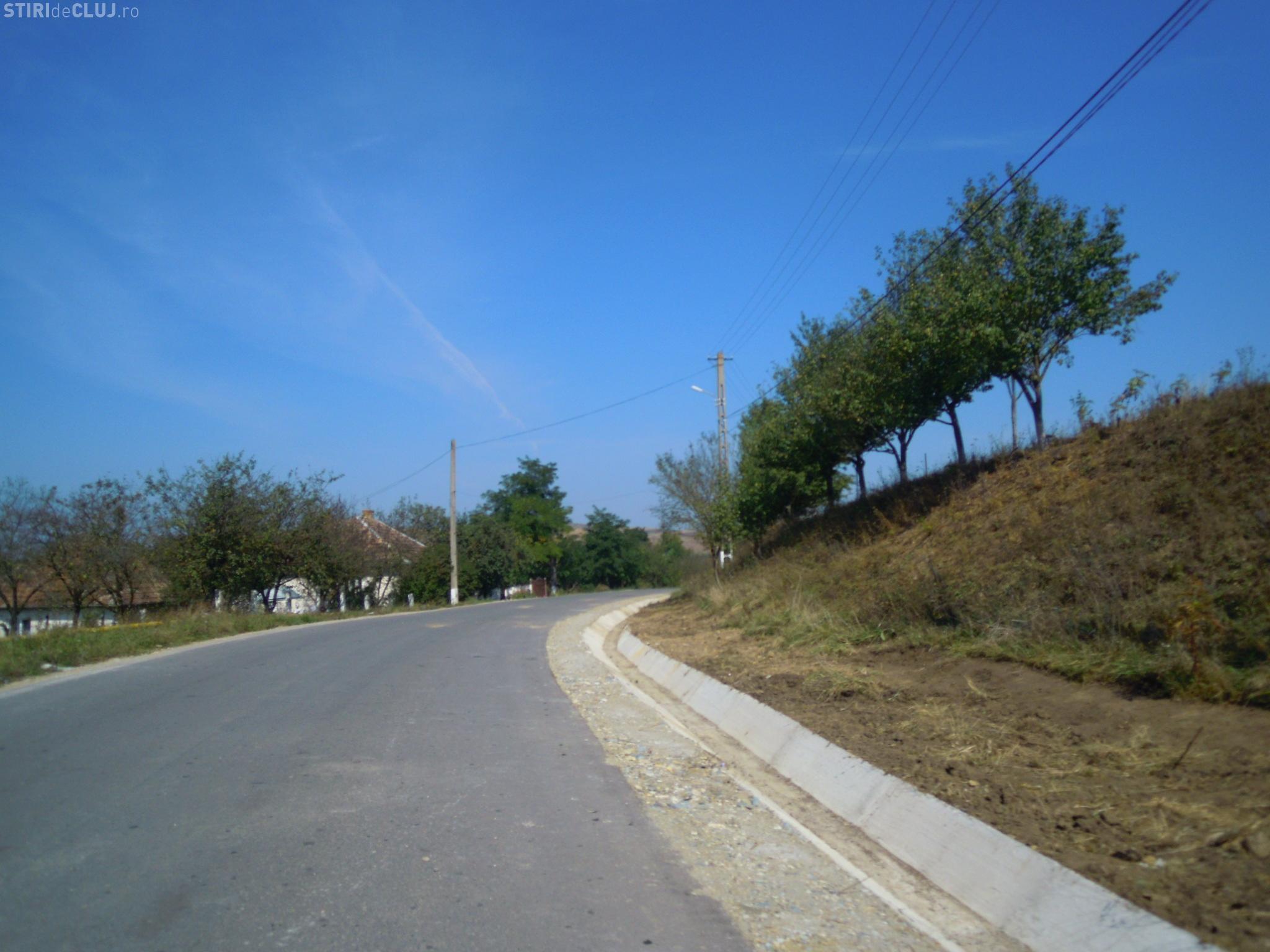 Drumul judeţean Habadoc – Buza – Feldioara - Hodaie a fost reparat - FOTO