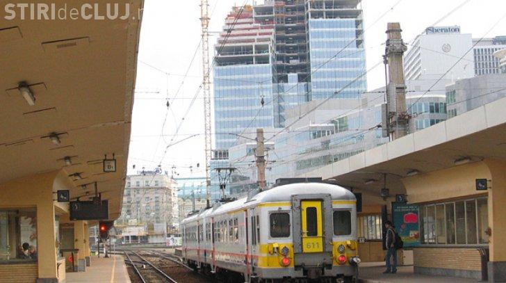 Alertă la Bruxelles! Circulația în gara e Nord a fost oprită după o amenințare cu bombă