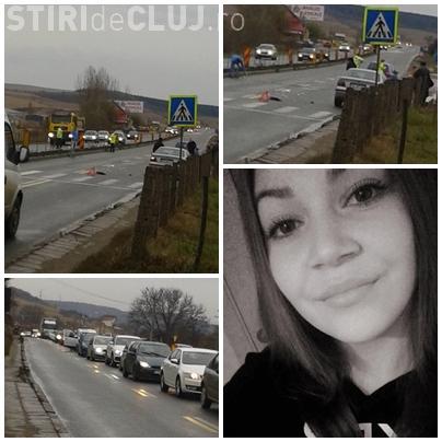 O fată de 16 ani, Alexandra Filimon, a murit în Vâlcele, cu zile. Ambulanța a trecut peste bordurile de pe DN1 - FOTO