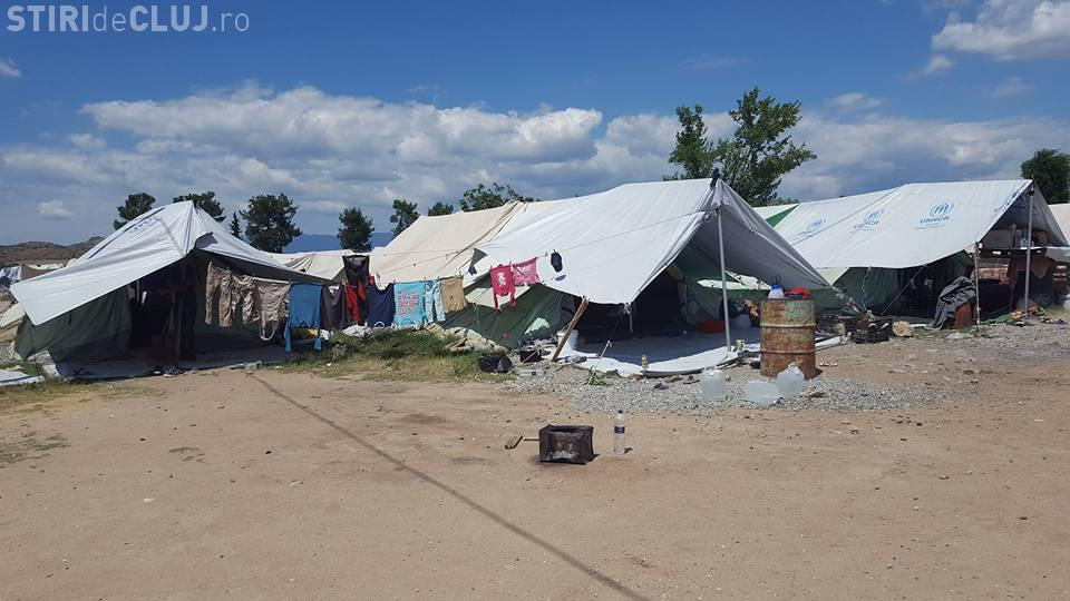 La Cluj-Napoca se ADUNĂ donații pentru refugiații sirieni
