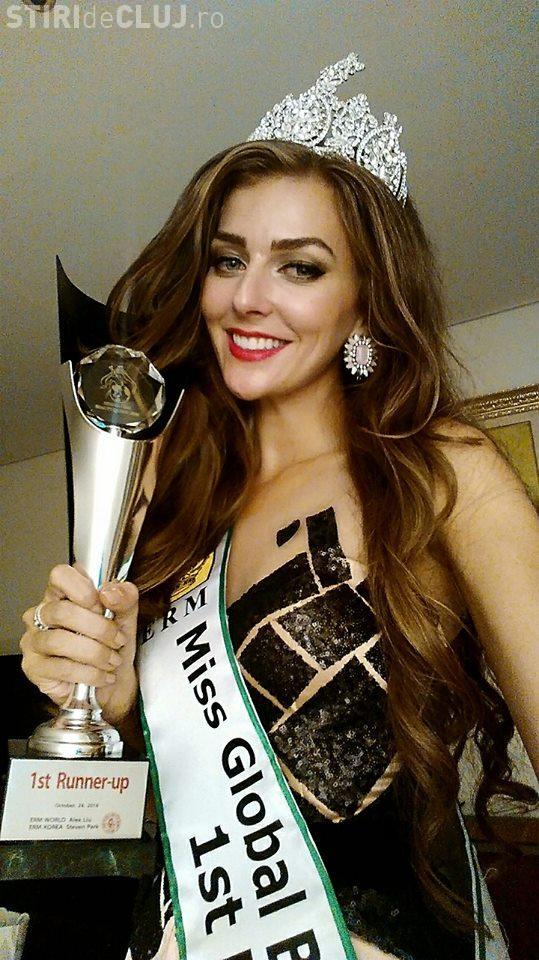 Clujeanca Eliza Ancău, 1st Runner Up Miss Global Beauty Queen - FOTO din CONCURS